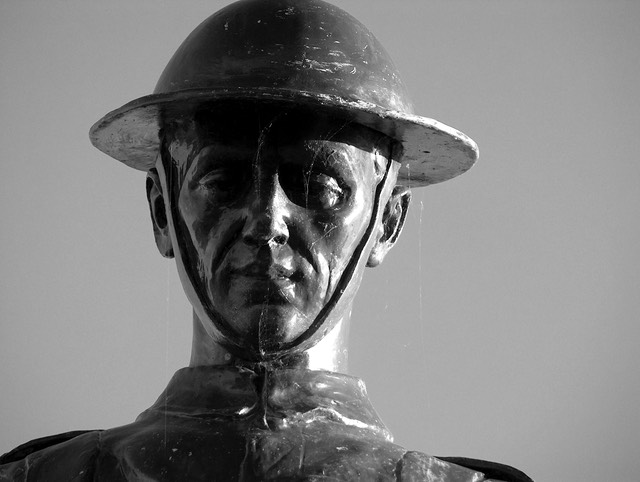 World War I statue #1